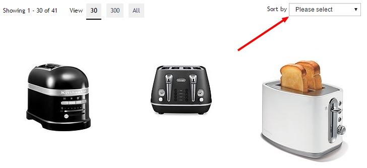 hof toaster sorting
