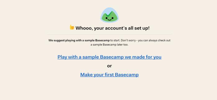 basecamp intro
